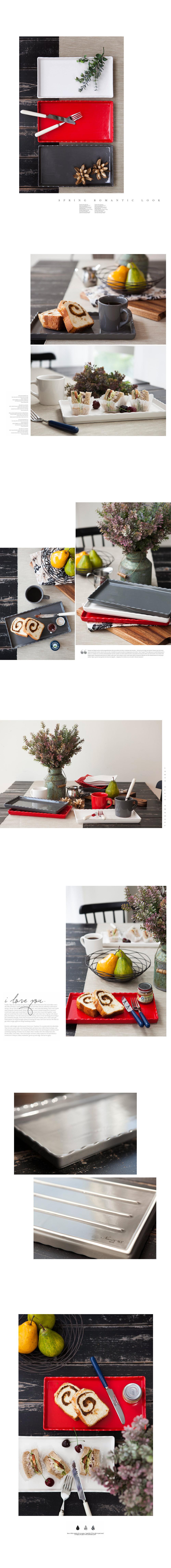 내츄럴 바닐라 브런치 플레이트(2color - 안나하우스, 22,800원, 접시/찬기, 접시